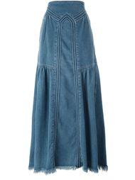 джинсовая юбка  Chloé