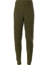 брюки ребристой вязки J.W.Anderson