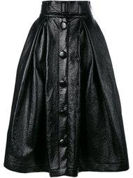широкая юбка с поясом  A.W.A.K.E