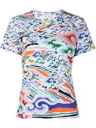 футболка с принтом Rainbow Cloud Mary Katrantzou