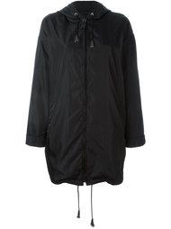 легкое пальто с капюшоном Prada Vintage