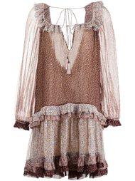 платье 'Eden' с оборками  Zimmermann