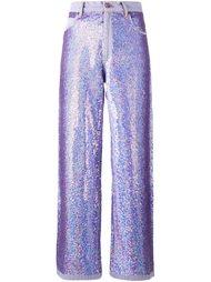 декорированные джинсы  Ashish