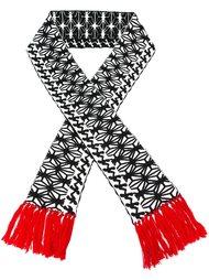 шарф с вышивкой Dsquared2