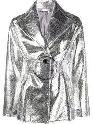 куртка с эффектом металлик  Rejina Pyo