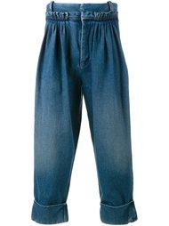 укороченные джинсы J.W.Anderson