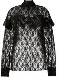 прозрачная кружевная блузка A.W.A.K.E
