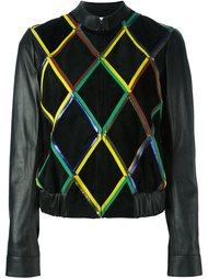 куртка с геометрическим узором  Marco De Vincenzo
