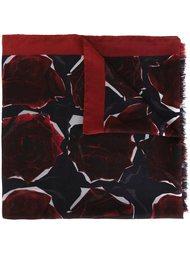 шарф с принтом роз Ps By Paul Smith