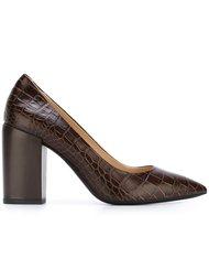 туфли 'Lin' с эффектом крокодиловой кожи Ps By Paul Smith