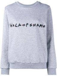 толстовка с вышивкой логотипа  Walk Of Shame