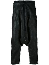брюки с заниженной шаговой линией  Alchemy