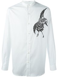 рубашка с вышивкой в виде птиц Ports 1961