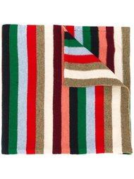 вязаный шарф с узором  Paul & Joe