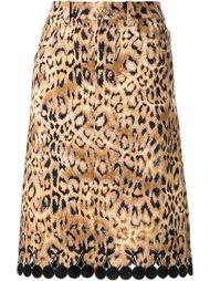 юбка с анималистическим принтом DressCamp