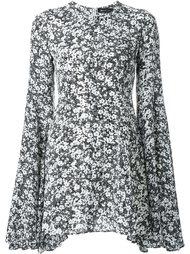 платье мини с цветочным узором DressCamp