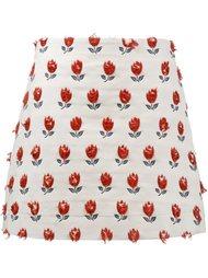 юбка с цветочной вышивкой  Jour/Né