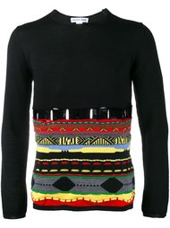 свитер с вышитым узором Comme Des Garçons Shirt