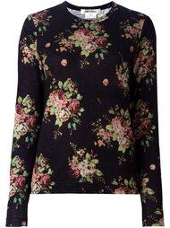 свитер с цветочным принтом Comme Des Garçons