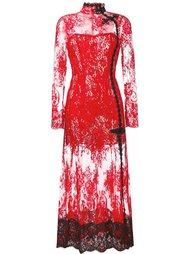 кружевное вечернее платье Alessandra Rich