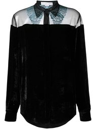 бархатная рубашка 'Caroline' Stella McCartney