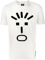 вязаная футболка  Fendi