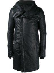 кожаное пальто The Viridi-Anne