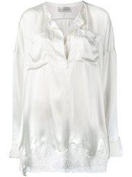 блузка с кружевной вставкой Faith Connexion
