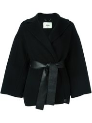 пальто с поясом  Fendi