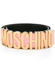 ремень с логотипом  Moschino