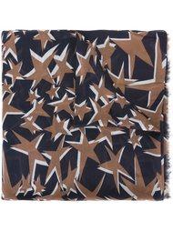шарф с принтом звезд Paul & Joe