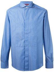 рубашка с потайной планкой на пуговицах Barena
