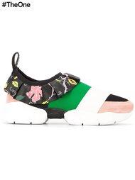 кроссовки с цветочным принтом   Emilio Pucci