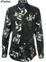 рубашка с нашивками  Dolce & Gabbana