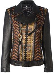 байкерская куртка с вышивкой Etro