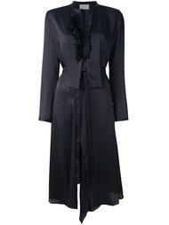 платье с оборками Maison Rabih Kayrouz