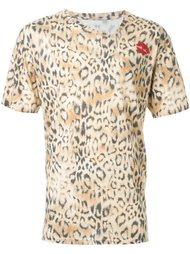 футболка с леопардовым принтом DressCamp