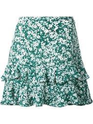 юбка с цветочным узором DressCamp