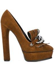 декорированные туфли  Casadei