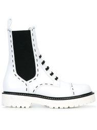 ботинки на шнуровке с эластичными панелями Dolce & Gabbana