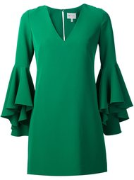 ruffle sleeves dress Milly