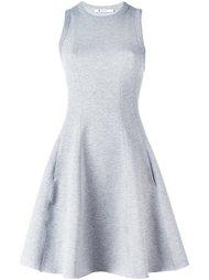 расклешенное платье со спинкой-рейсер T By Alexander Wang