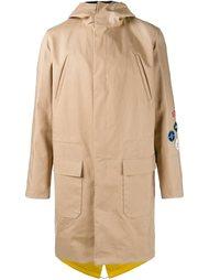 пальто с нашивками Raf Simons