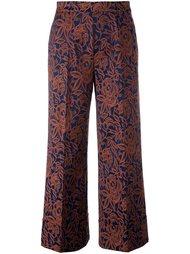 укороченные жаккардовые брюки Twin-Set