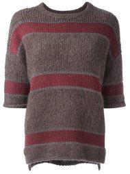 полосатый свитер  Brunello Cucinelli
