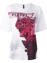 футболка с принтом 'architecture' Versus