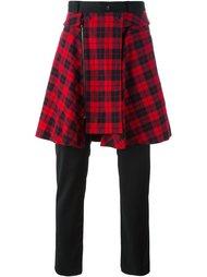 брюки с трикотажной юбкой D.Gnak
