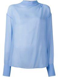полупрозрачная блузка Emilio Pucci