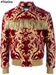 куртка из парчи  Saint Laurent
