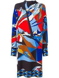 платье с абстрактным узором Emilio Pucci